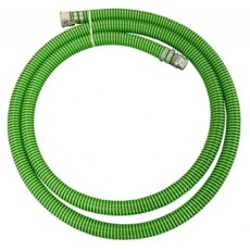 "3"" x 20' Suction Hose Green/Black cpld CxE"